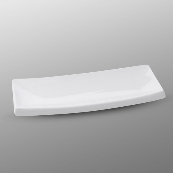 Image of Korin Durable White Rectangle Plate
