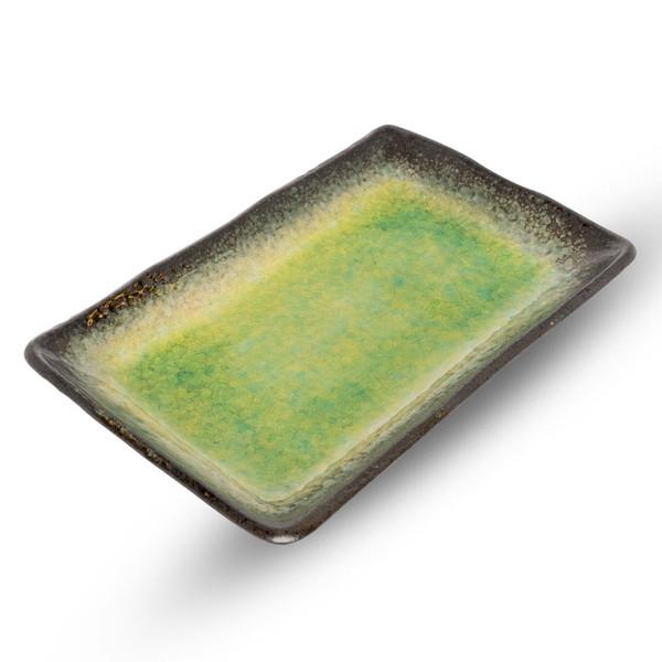 Image of Ariake Green Rectangular Plate