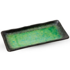 Ariake Green Yakimono Plate
