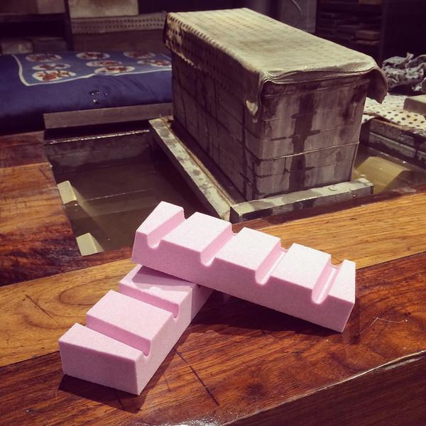 Image of Sharpening Stone Fixer - Pink 2