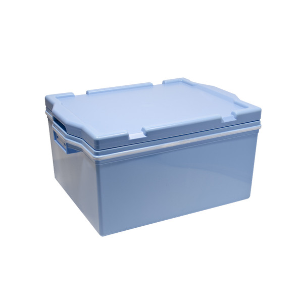 Image of Plastic Blue Rice Container