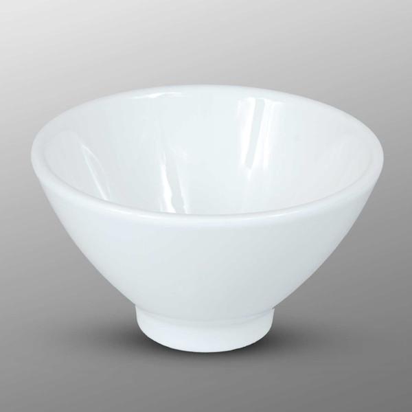 Image of Korin Durable White Round Sauce Dish 1