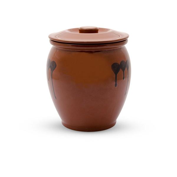 Image of Brown Kame Sauce Pot
