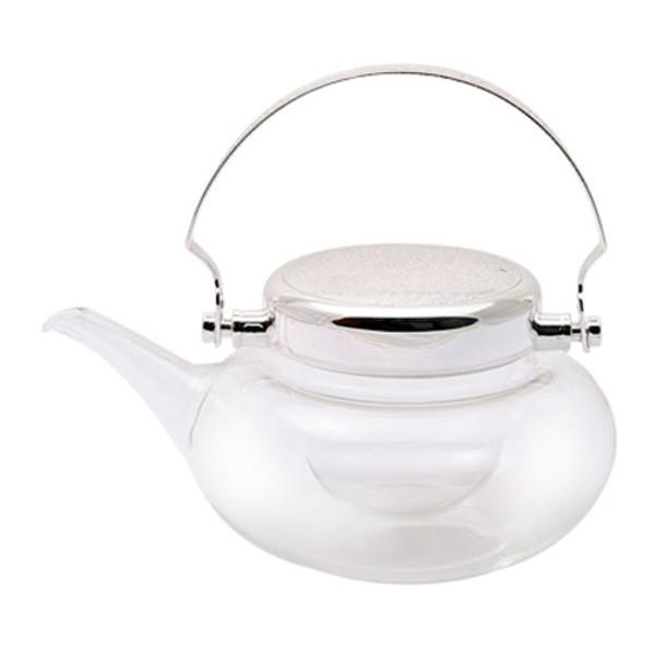 Image of Chirori Cold Silver Sake Pot