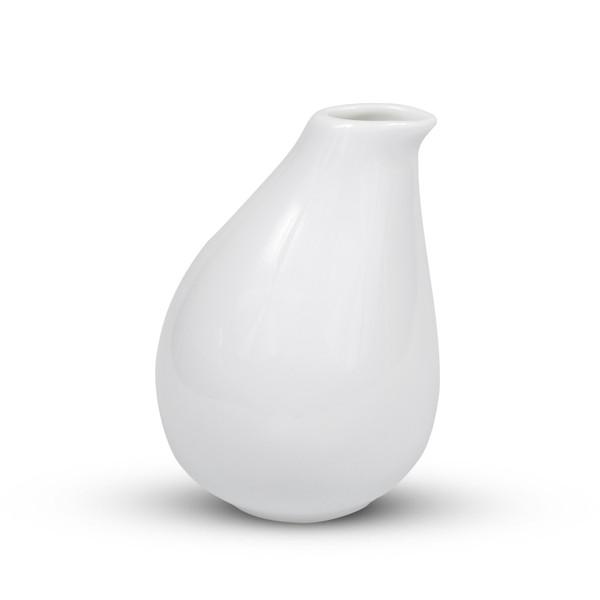 Image of Iga White Offset Sake Bottle 2