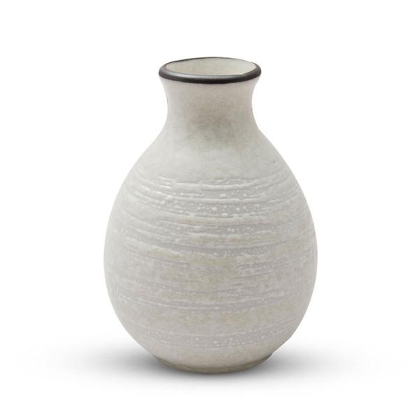 Image of Beige Textured Sake Bottle