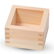 Hinoki Wood Sake Box