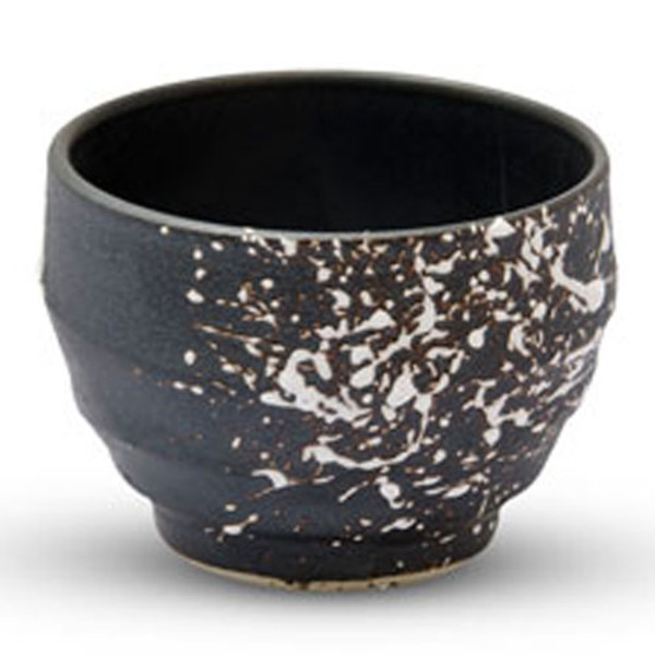 Image of Tessa Gray Sake Cup with White Speckle