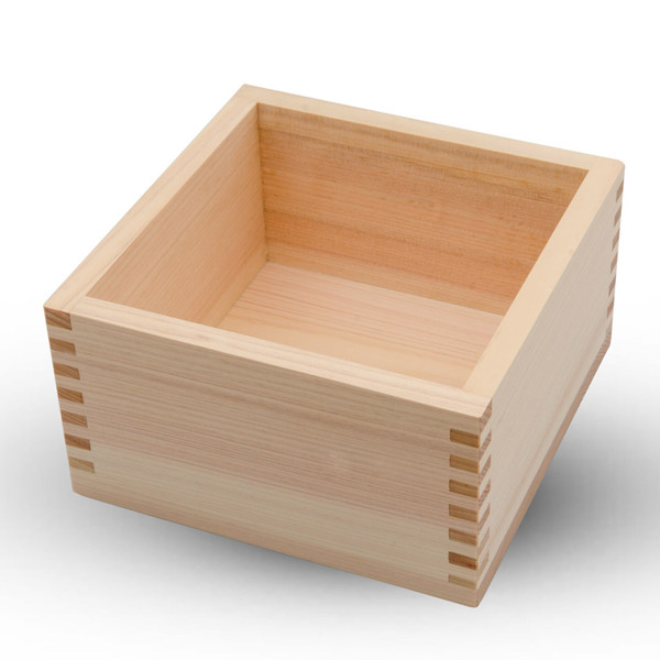 Image of Hinoki Wood Square Box 1