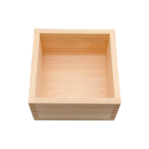 Image of Hinoki Wood Square Box 2