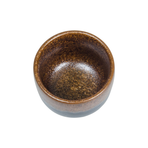 Image of Tenmoku Kinkessho Brown Sake Cup 2