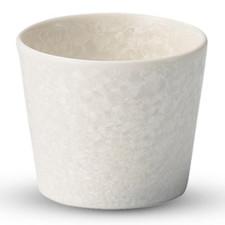 Saku White Round Sake Cup