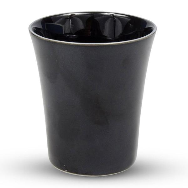 Image of Janome Dark Silver Sake Cup 1
