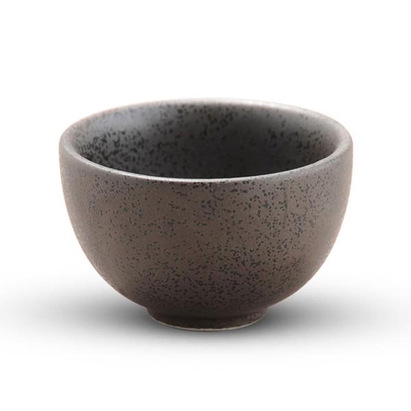 Image of Black Kessho Sake Cup