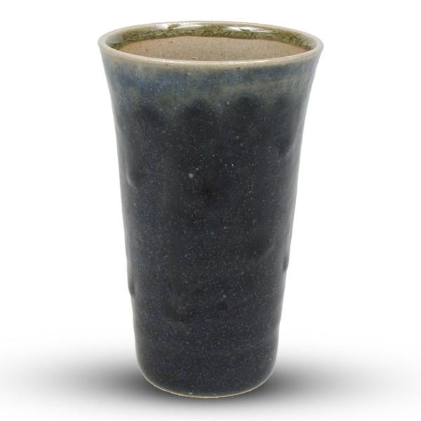 Image of Ainagasahi Blue Round Sake Cup 1