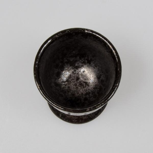 Image of Tessa Black Footed Sake Cup 2