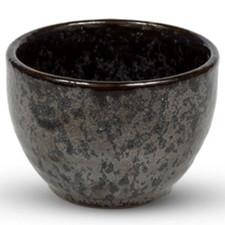 Black Gradient Round Sake Cup