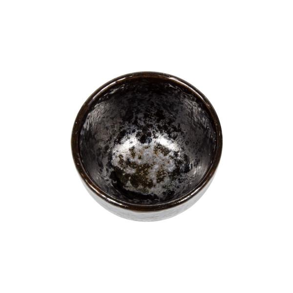 Image of Black Gradient Round Sake Cup 2