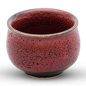 Shuin Red Sake Cup