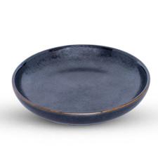 Tessa Black Round Sauce Dish