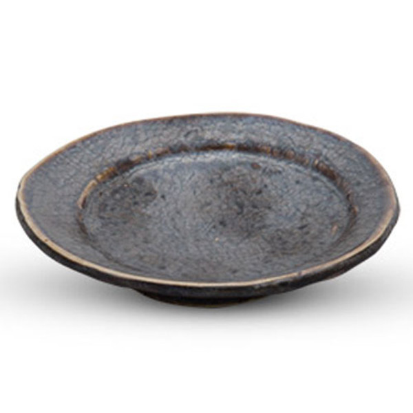"Image of Kyo Black Sauce Dish (3.75""Dia.) 1"