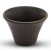 Matte Black Round Dipping Cup