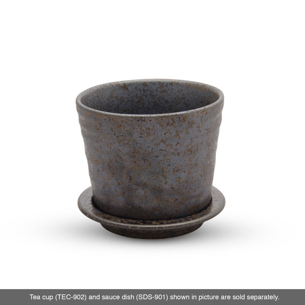 Image of Miroku Black Round Condiment Dish 3