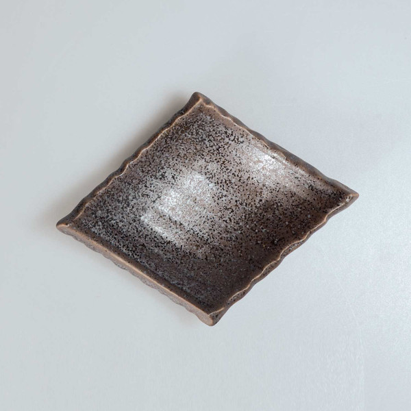 Image of Brown Abstract Sauce Dish 2