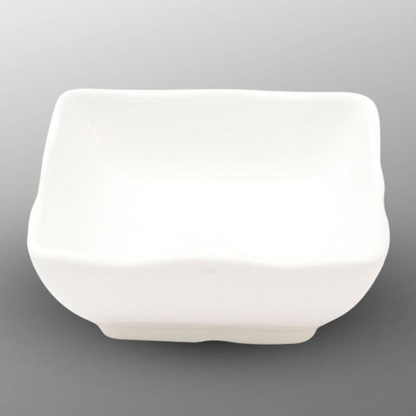 Image of Korin Durable White Square Sauce Dish