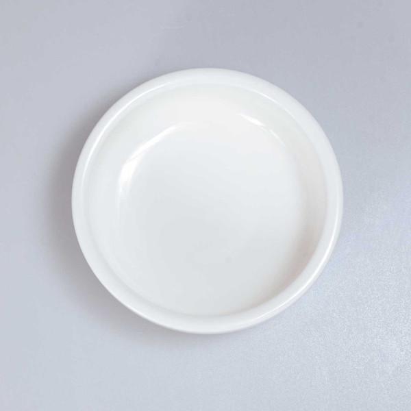 Image of Korin Durable White Round Sauce Dish 2