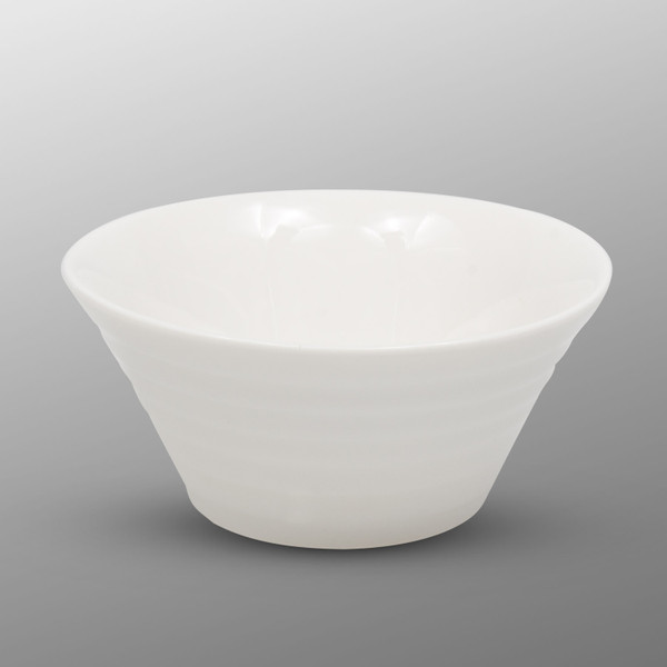 Image of Korin Durable White Lined Sauce Bowl 1