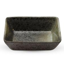 Black Moss Patterned Rectangular Sauce Dish