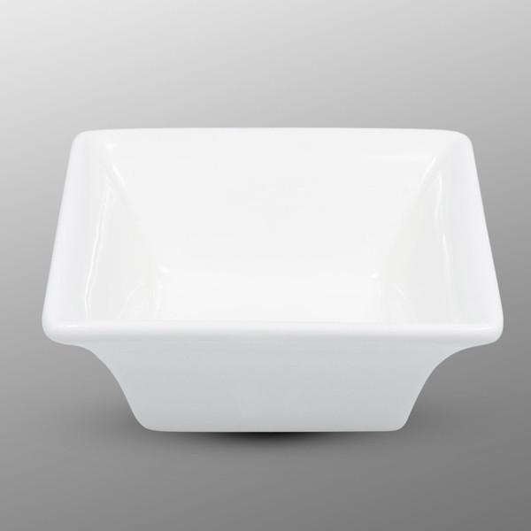 Image of Korin Durable White Square Sauce Dish 1