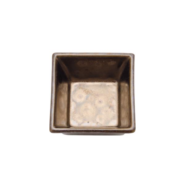 Image of Musashi Gold Square Sauce Dish 2