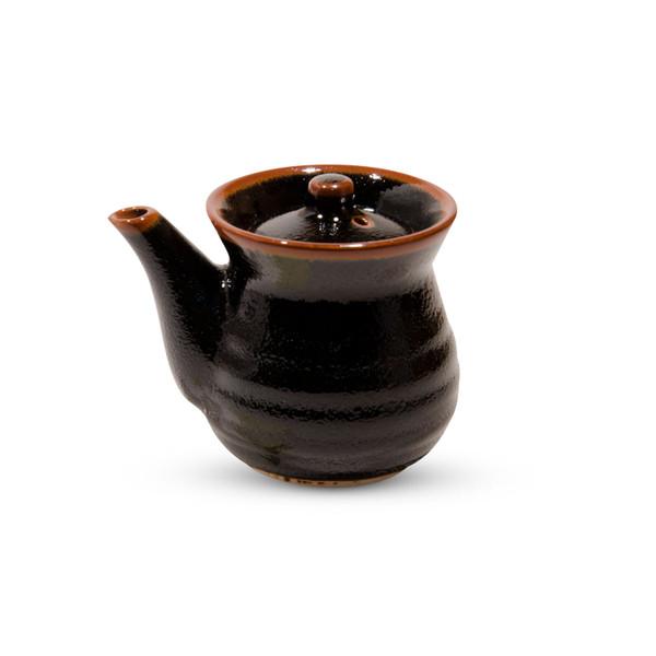 Image of Yuzu Tenmoku Black Sauce Pot