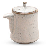White Speckled Sauce Pot