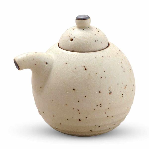 Image of White Mikage Sauce Pot - Large