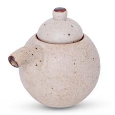 White Mikage Sauce Pot - Small