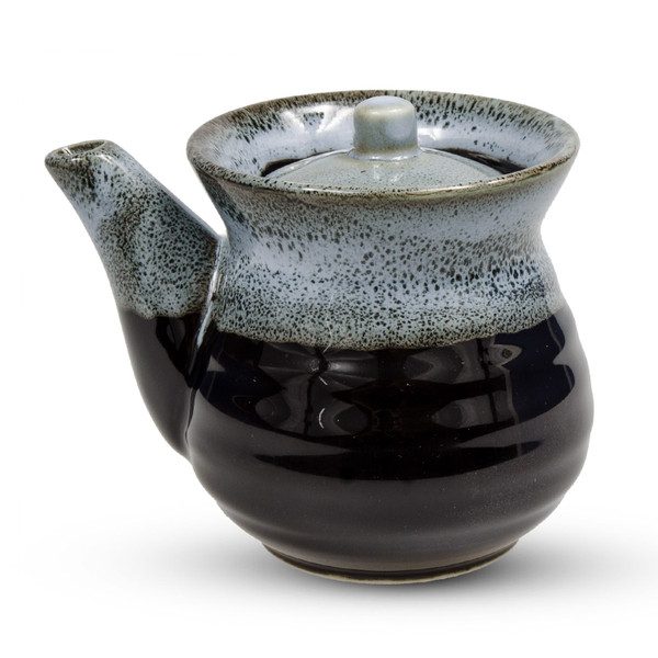 Image of Black Gray Sauce Pot