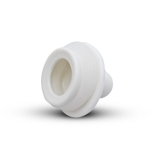 Image of Korin Durable White Sauce Dispenser with Silicone Lid 2