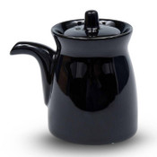 Korin Durable Black Sauce Pot with Silicone Lid