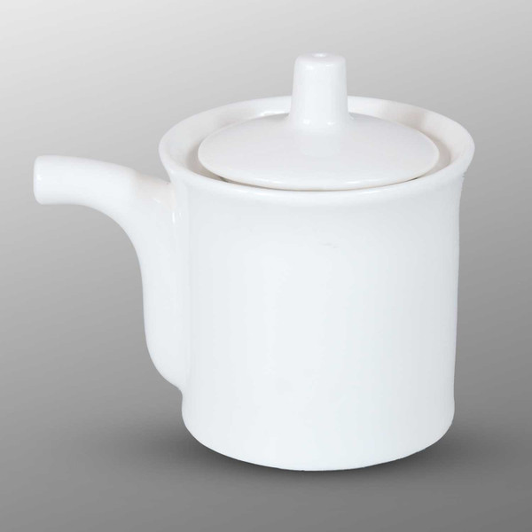 Image of Korin Durable White Sauce Pot 1