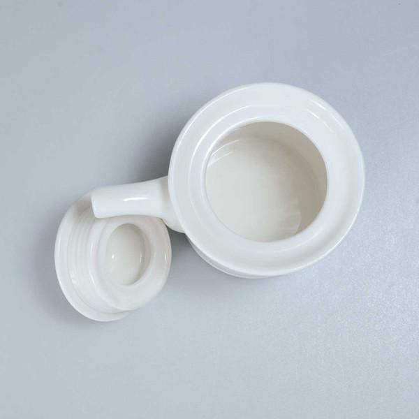 Image of Korin Durable White Sauce Pot 2