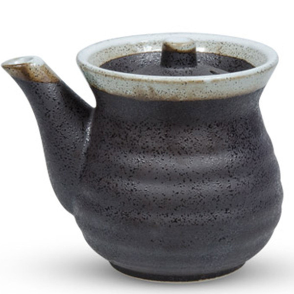 Image of Black Tetsuyu Sauce Pot 1