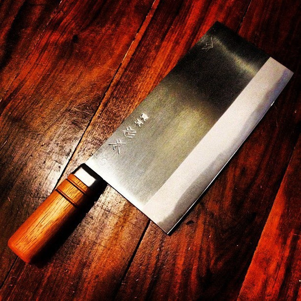 Image of Sugimoto Carbon Steel Chinese Cleaver 2
