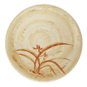 Gold Orchid Melamine Plastic Kyoto Plate (Price By DZ)