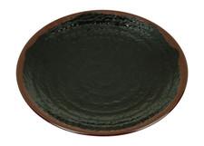 Tenmoku Melamine Plastic Kyoto Plate (Price By DZ)