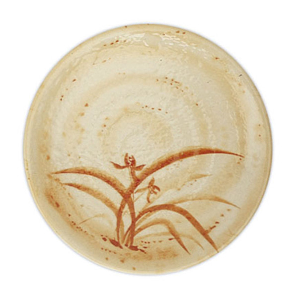 Image of Gold Orchid Melamine Plastic Kyoto Plate (Price By DZ)