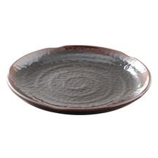 Tenmoku Melamine Plastic Zen Plate (Price By DZ)