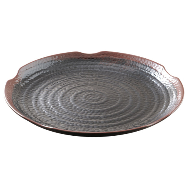 Image of Tenmoku Melamine Plastic Lotus Shape Plate (Price By DZ)